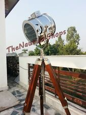Nautical Marine Floor Lamp Designer Spot Searchlight Studio Tripod Floor Lamps