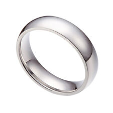 Wholesale 24pcs 316L Stainless Steel Polished Comfort 4mm Band Rings