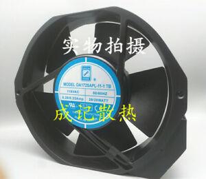 1pcs  ORION FANS OA172SAPL-11-1 TB 115V 0.29A cooling fan