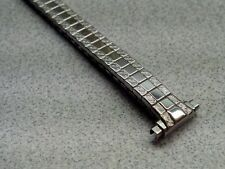 NOS Speidel Twist-O-Flex 10-13mm Adj Ends Stainless Long Expansion Watch Band