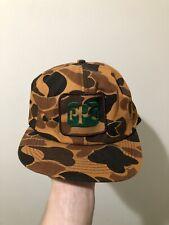 Vintage 70s 80s K Products K Brand PPG Paint Patch Camo Snapback Trucker Hat Cap
