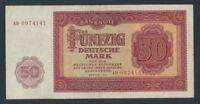 DDR Rosenbg: 352a gebraucht (III) 1955 50 Deutsche Mark (9055419