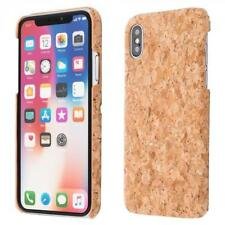 Apple iPhone X LIÉGE HOUSSE BOIS NATURE HARD CASE COVER CAS