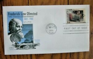 FREDERICK OLMSTED FATHER AMERIC LANDSCAPE ARCHITECTURE 1999 ARTMASTER CACHET FDC