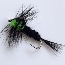 pesca con mosca Montana FLUORESCENTE VERDE Ocho Paquete trucha carpa Chub Lucia