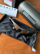 Polarized OAKLEY Sunglasses Carbon BLADE OO9174-03 Black Carbon Fiber w/ Iridium