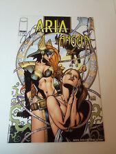 SIGNED! 2000 Image Comics ARIA ANGELA # 1 VFN- Autographed by J. G. JONES