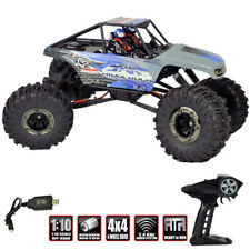 Redcat 1/10 Danchee Ridgerock 4x4 Off-Road Brushed Rock Crawler Rtr Blue/Gray