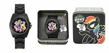 MY LITTLE PONY MLP MANE SIX GROUP 6 WATCH COLLECTORS TIN BRONY EASTER GIFT
