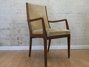 Mid Century 60er Jahre Stuhl Sessel Easy Chair Hochlehner 60s Vintage