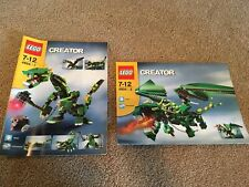 LEGO Creator 4894  Mythical Creatures  instruction manuals only!
