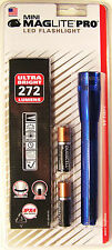 Maglite SP2P11H Mini Mag 2-Cell LED PRO Flashlight 272 Lumens w/Holster Blue