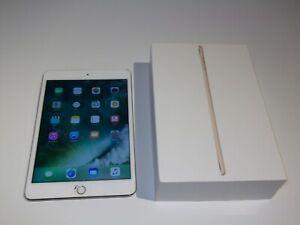 Apple iPad mini 4 64GB, Wi-Fi, 7.9in - Gold - Screen Damage - full working