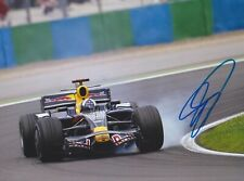 DAVID COULTHARD Red Bull F1 Foto 2 15x20 orignal signiert IN PERSON Autogramm