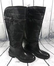 Storm by Cougar Striker Women's Black Fur Lined Waterproof Tall Boots Size 7