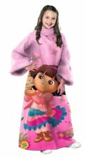 Dora the Explorer Bunny Friend Blanket/SLEEVES Comfy Throw YOUTH