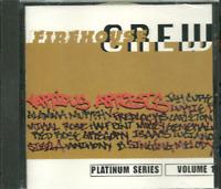 Music CD Reggae Dancehall Various Firehouse Crew Platinum Series Sealed Album