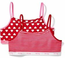 c4057cf25215d NWT M OLD NAVY ❤ CUTE GIRLS CAMI BRAS 2 PACK HEARTS SPORTS DANCE GYMNASTICS