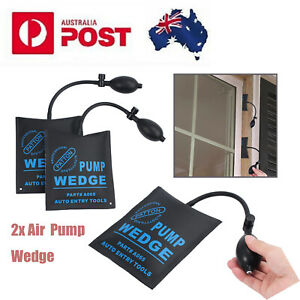 2x Air Wedge Pump Wedge Home Use for Door Window Installation Auto Repair Tool