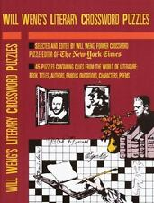 Will Weng's Literary Crosswords (Other)-ExLibrary