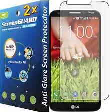 2x Anti-Glare Matte Lcd Screen Protector Guard Lg G2 D800 D801 D802 Ls980 Vs980