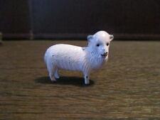 Vintage Miniature Toy - Cast Metal - Sheep - Ewe - Lamb - Baa