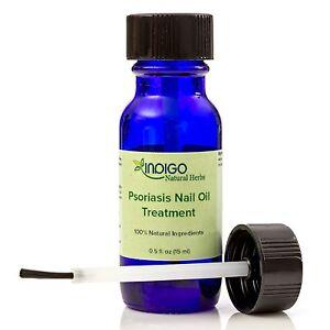 Psoriasis Nail Oil Treatment from Indigo Natural Herbs - 15 ml FREE SHIPPING!