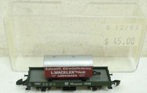 Marklin 1993 Z Scale Museum Flatcar with Wagon LN/Box