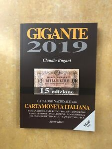 15a EDIZIONE Catalogo Nazionale CartaMoneta ITALIANA GIGANTE 2019