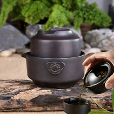 CHINA TEA SET BLACK TEA POT CUP YIXING PURPLE CLAY KUNG FU TEA SET