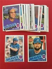 1985 Topps Atlanta Braves Team Set with Traded 35 Cards