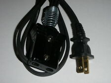 "3/4"" Spaced 2pin (6ft) Power Cord for Vintage La Belle Coffee Percolator Urn"