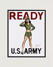 """Army Girl"" 11x14 Print by artist Garry Palm"
