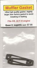 OS .32 F-H Exhaust/Muffler Gasket 2 Pack NIP