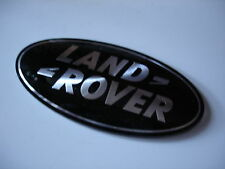 RANGE Rover Originale anteriore griglia Badge in Nero DAG500160