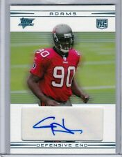 CERTIFIED TOPPS autograph signed card ROOKIE GAINES ADAMS deceased 2010 CLEMSON