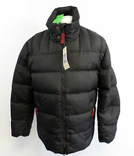 Calamar Quilted Puffer Jacket Black Mens UK Size 40R Box7496 A