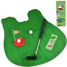 Novità Carta Igienica Mini Golf Potty Putter bagno gioco giocattolo Trainer Set mettendo Regalo