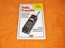 italia ti ascolto, paolo r. castelli - p. tamarozzi,1991