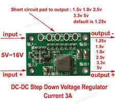 DC-DC Buck Converter Step Down Power Module 5~16V to 1.5V 1.8V 2.5V 3.3V 5V 3A