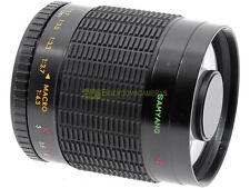 Samyang teleobiettivo 500mm. f8 MC con innesto T2 x Nikon, Canon, Pentax, ecc.