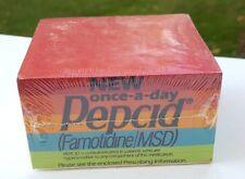 Pepcid Antacid Sticklers Sticky Notes Pad NOS Advertising