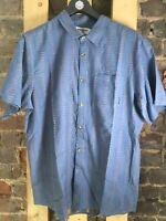 Billabong S/S Shirt - Blue - Size XL - NEW