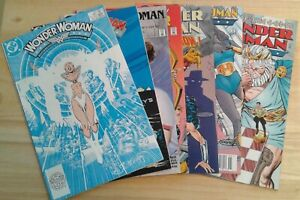 Wonder Woman lot of 7 comics DC includes #15 1st Appearance of Silver Swan