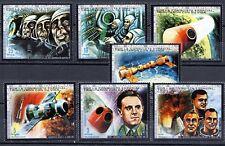 Republica de Guinea Ecuatorial  año 1972  conquista espacial  sellos  nuevos