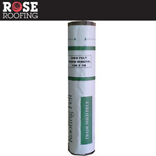Rose Roofing Shed Roofing Felt | Green Red & Black Mineral Felt | 5, 8, 10 x 1m