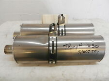 TRIUMPH 1050 SPEED TRIPLE END CANS