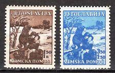 Yugoslavia - 1935 Winter aid - Mi. 320-21 MNH