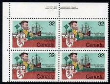CANADA MNH 1984 Jacques Cartier's Voyage to Canada Block of 4