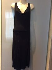 Women's black Gucci dress size S with slit in front